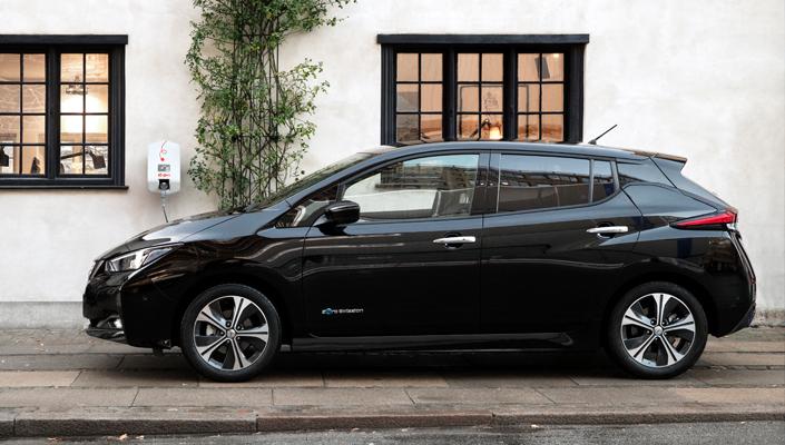 Lad din Nissan Leaf 2018 raskere hjemme